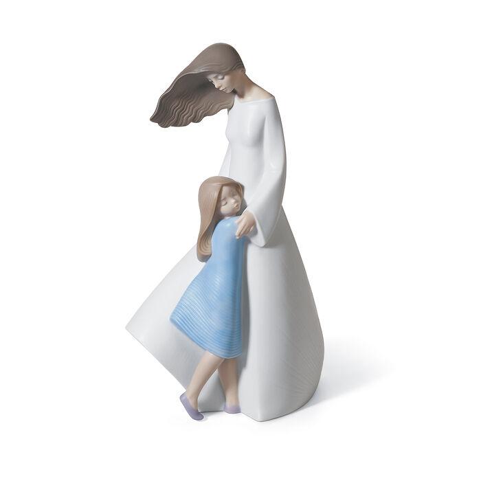 "Lladro ""I Love You Mom"" Porcelain Figurine , , default"