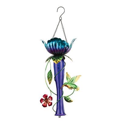 Regal Purple Tulip Chaser Solar Lantern