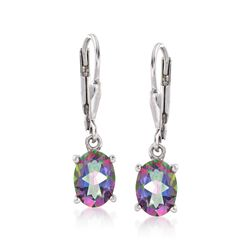 2.60 ct. t.w. Multicolored Topaz Drop Earrings in Sterling Silver, , default