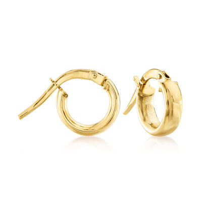Child's 14kt Yellow Gold Hoop Earrings