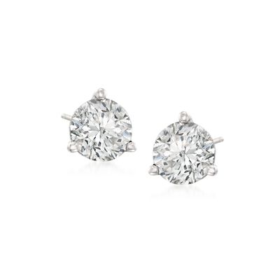 .50 ct. t.w. Diamond Martini Stud Earrings in Platinum, , default