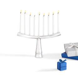 "Nambe ""Judacia"" Menorah, , default"