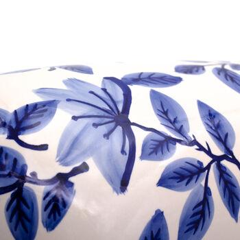 "Euro Ceramica ""Blue Garden"" Tall Azalea Vase, , default"