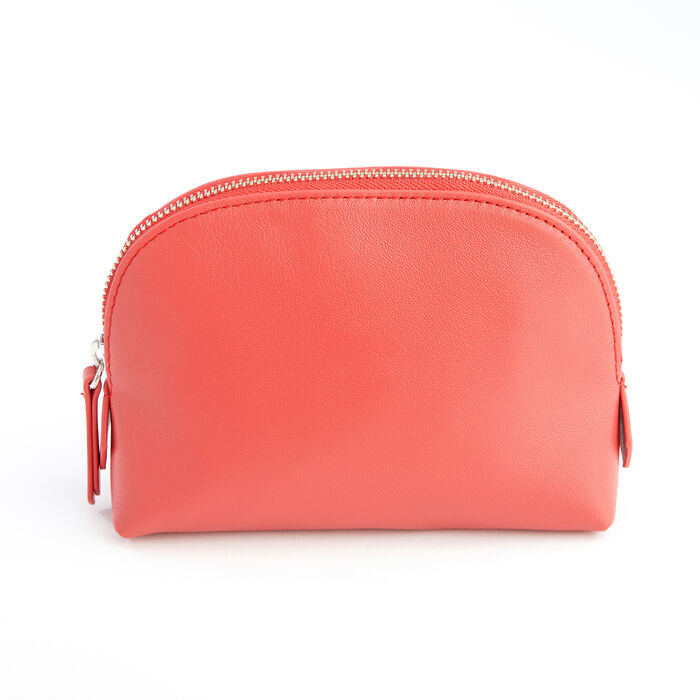 Royce Red Leather Cosmetic Case, , default