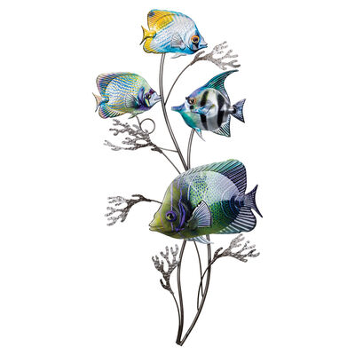 "Regal ""Luster"" Vertical Fish Wall Decor"