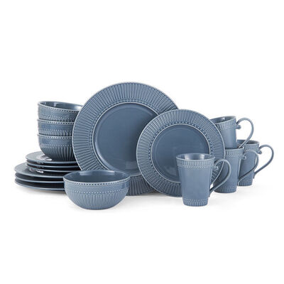 "Mikasa ""Italian Countryside"" Blue 16-pc. Service for 4 Dinnerware Set, , default"