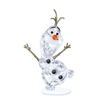 "Swarovski Crystal ""Olaf"" Orange and Clear Crystal Figurine, , default"