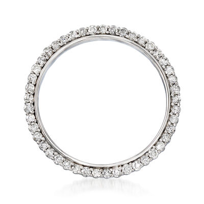 2.00 ct. t.w. Diamond Eternity Circle Pin in 14kt White Gold, , default