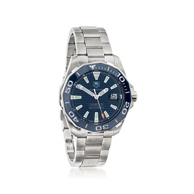 TAG Heuer Aquaracer Men's 41mm Stainless Steel Watch, , default