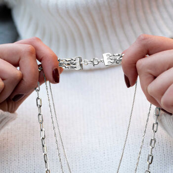 Italian Sterling Silver Layering Clasp