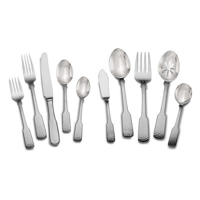 """Towle """"Hammersmith"""" 45-pc. Service for 8 18/10 Stainless Steel Flatware Set"""