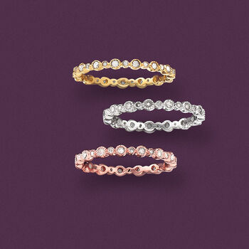 .25 ct. t.w. Diamond Eternity Band in 14kt White Gold, , default