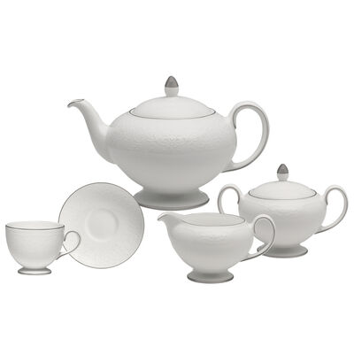 "Wedgwood ""English Lace"" Tea Service, , default"