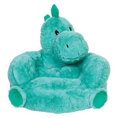 Children's Plush Dinosaur Chair, , default