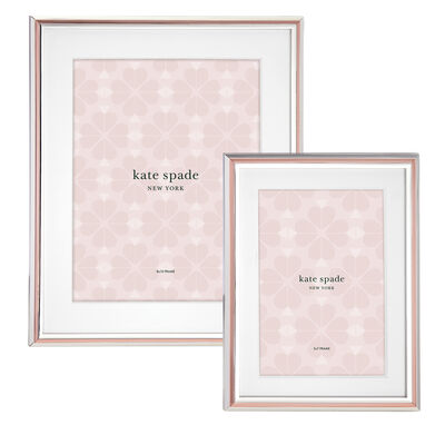 "Kate Spade New York ""Rosy Glow"" Frame"