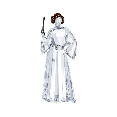 Swarovski Crystal Disney Star Wars Princess Leia Figurine