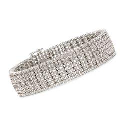 3.00 ct. t.w. Diamond Bracelet in Sterling Silver, , default