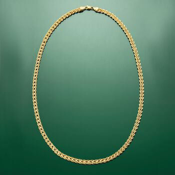 14kt Yellow Gold Double Rope Necklace