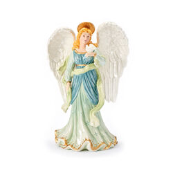 """Fitz and Floyd """"White House"""" Angel With Dove Figurine , , default"""