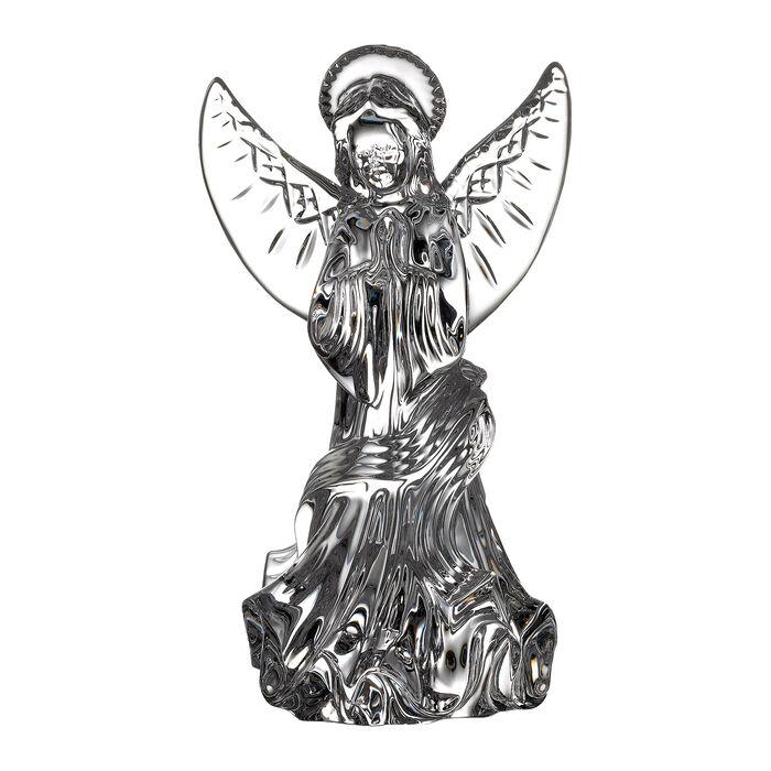 "Waterford Crystal ""Gift Bar"" Lismore Angel Figurine"