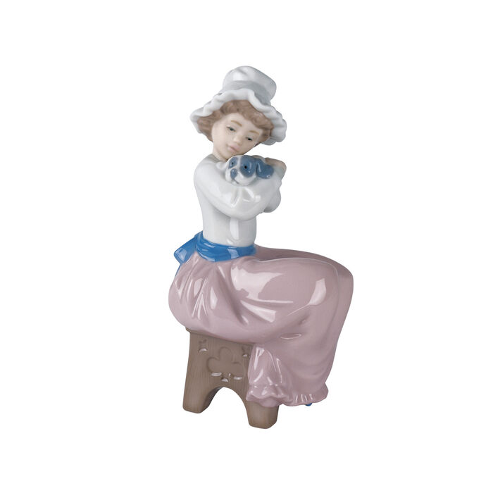 "Nao ""A Big Hug"" Porcelain Figurine, , default"