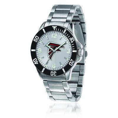 Men's 46mm NFL Atlanta Falcons Stainless Steel Key Watch, , default
