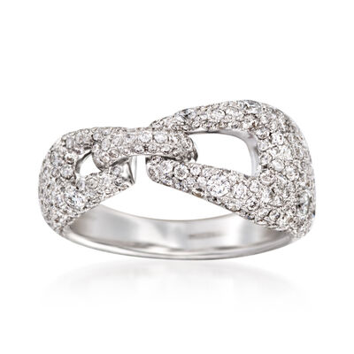 "C. 2005 Vintage Kwiat ""Madison Avenue"" 2.00 ct. t.w. Diamond Ring in 18kt White Gold , , default"