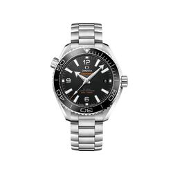 Omega Seamaster Planet Ocean Men's 39.5mm Stainless Steel Watch With Black Dial, , default
