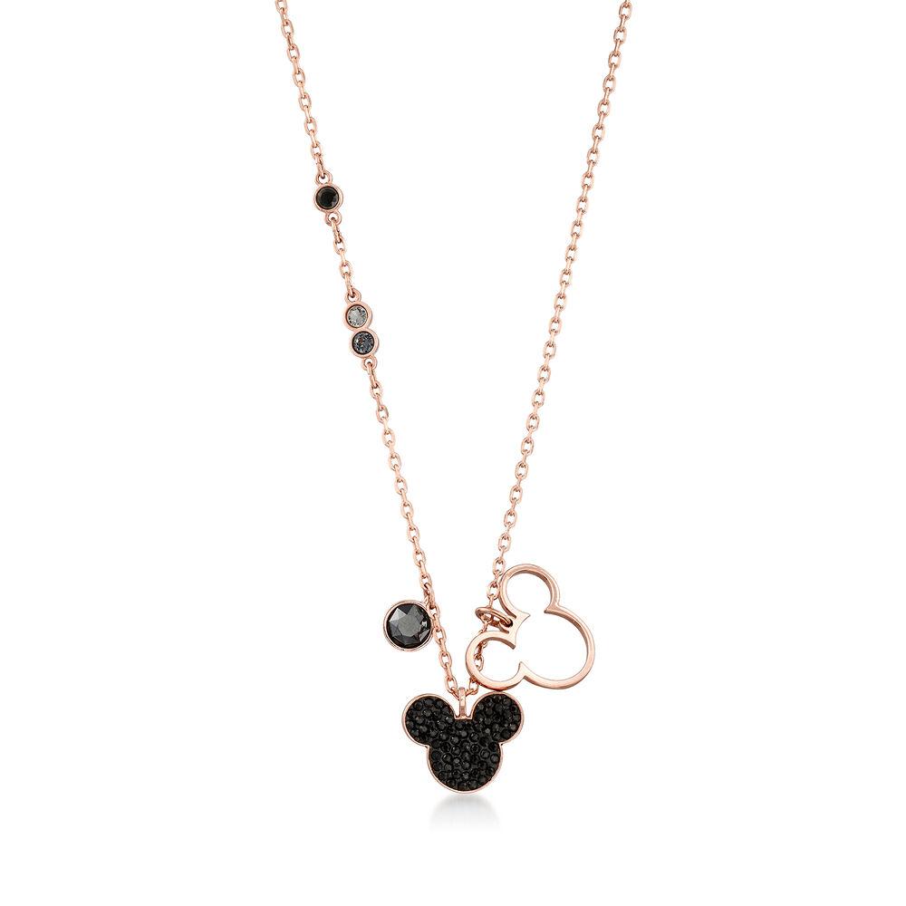 "3021ce488 Swarovski Crystal Mickey Mouse Pendant Necklace. 16.5"", , default"
