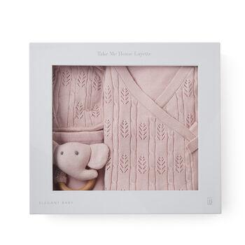 "Elegant Baby ""Coming Home"" 5-pc. Pink Newborn Set, , default"