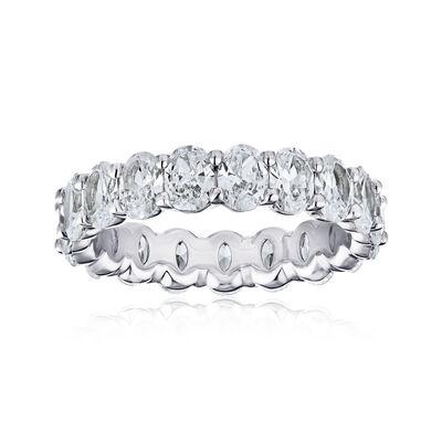 5.05 ct. t.w. Diamond Eternity Wedding Band in Platinum, , default