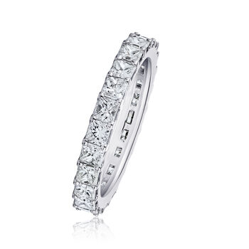 1.90 ct. t.w. Princess-Cut Diamond Eternity Band in 14kt White Gold