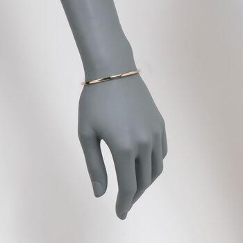 "Roberto Coin 18kt Yellow Gold Bangle Bracelet. 7"", , default"