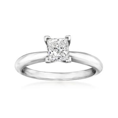 .95 Carat Certified Diamond Engagement Ring in Platinum