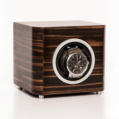 Brouk & Co. Matte Ebony Wooden Watch Winder, , default