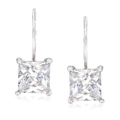 2.52 ct. t.w. CZ Earrings in Sterling Silver, , default