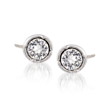 """Swarovski Crystal """"Subtle"""" Crystal Jewelry Set: Earring Jackets and Two Pairs of Earrings in Silvertone, , default"""