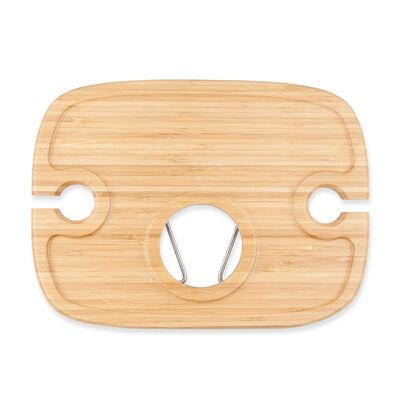 Dash Bamboo Wood Picnic Table