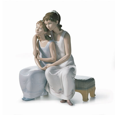 "Lladro ""My Sister, My Friend"" Porcelain Figurine, , default"