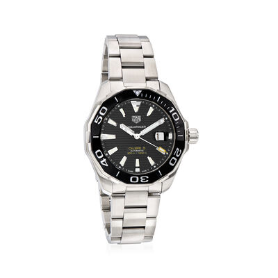 TAG Heuer Aquaracer Men's 43mm Stainless Steel Watch, , default