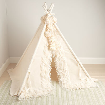 Baby Bianca Lace Teepee, , default
