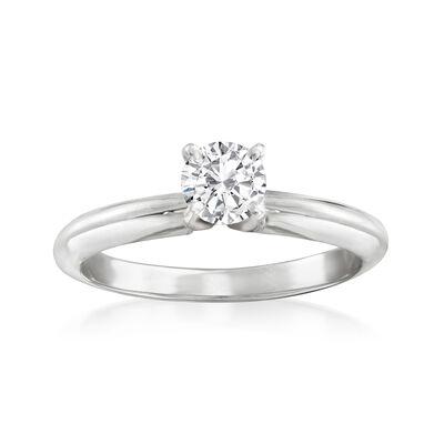 .51 Carat Certified Diamond Ring in 14kt White Gold