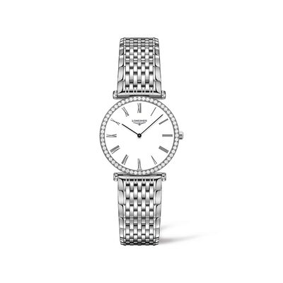 Longines La Grande Classique Women's 29mm .47 ct. t.w. Diamond Watch in Stainless Steel