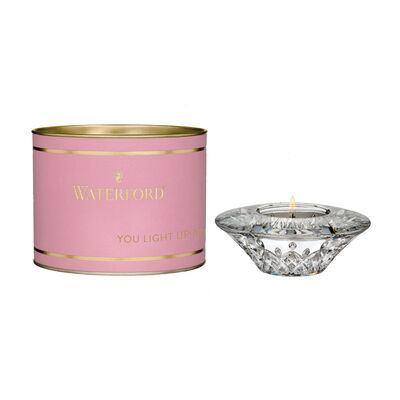 "Waterford Crystal ""Giftology"" Lismore Round Votive Candle Holder"