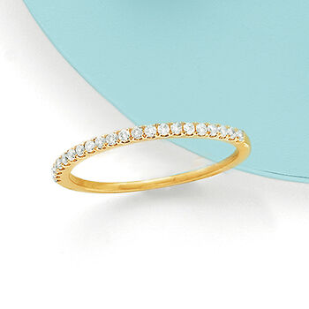 .21 ct. t.w. Pave Diamond Ring in 14kt Yellow Gold