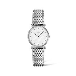 Longines La Grande Classique Women's 29mm Stainless Steel Watch With Diamond Accents, , default