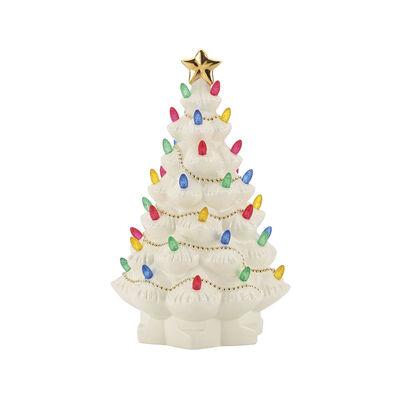 """Lenox """"Treasured Traditions"""" Lit Tree, , default"""