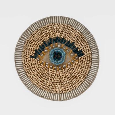 Joanna Buchanan Set of 4 Evil Eye Beaded Coasters, , default