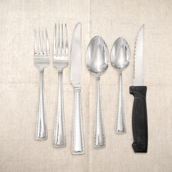 "International Silver ""Mason"" Stainless Steel Flatware, , default"