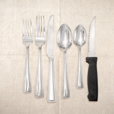 "International Silver ""Mason"" Stainless Steel Flatware, , default"